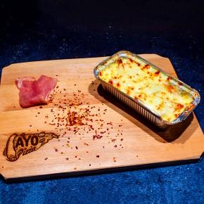 Cartofi cu sos de usturoi...