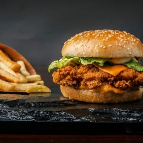 Meniul Cheeseburger de pui